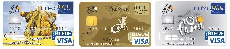 Carte Bleue Visa Lcl.Lcl Propose Une Carte Bancaire Tour De France 2010