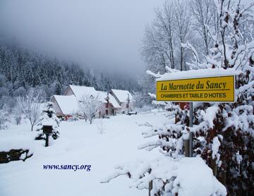 Chambres d'hôtes La Marmotte du Sancy à Mont-Doré - Puy-de-dome on