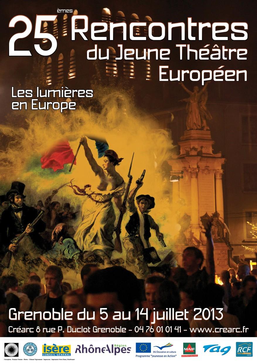Rencontres du jeune theatre europeen 2018