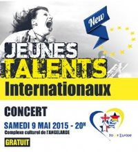 Tremplin musical Jeunes Talents internationaux. Du 7 au 9 mai 2015 à chatellerault. Vienne.  20H00