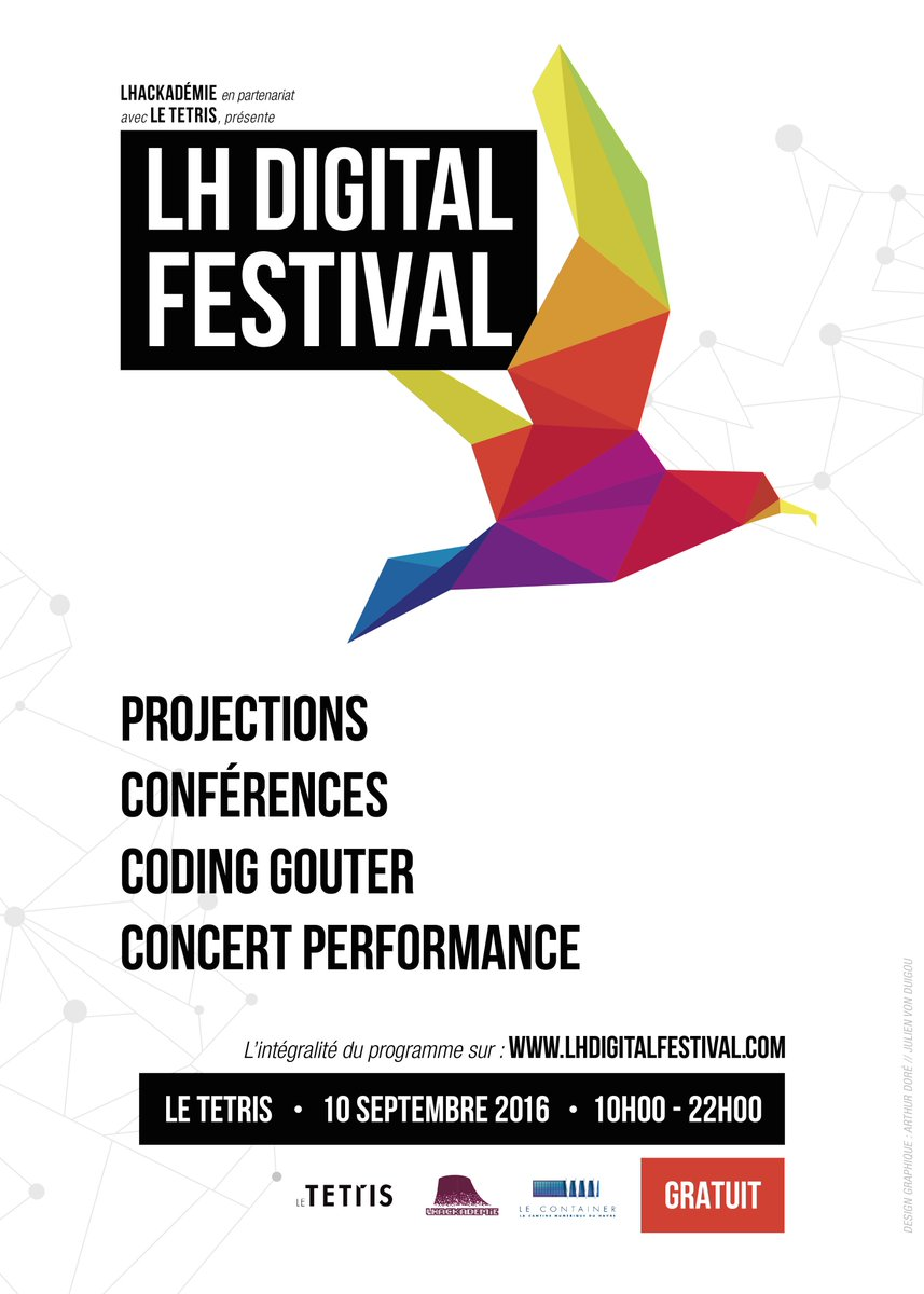 Commentez lh digital festival au t tris for Tetris havre