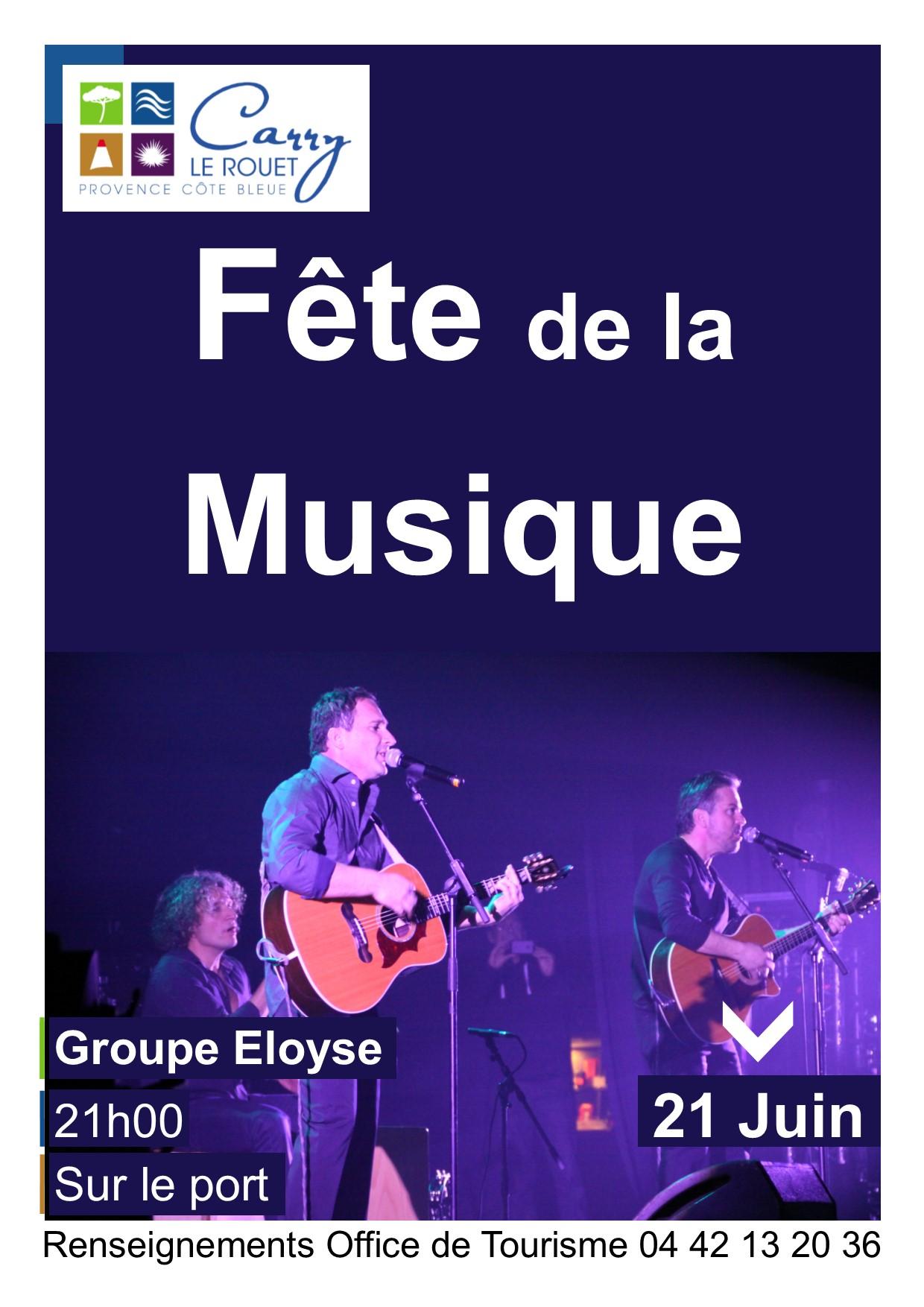 Fªte de la musique 2017  Carry le Rouet Bouches du Rhone Foxoo