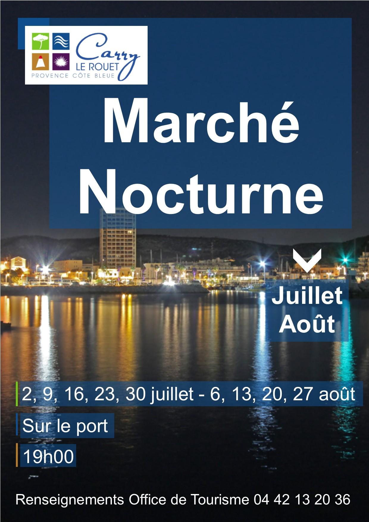 Marché nocturne 2017  Carry le Rouet Bouches du Rhone Foxoo