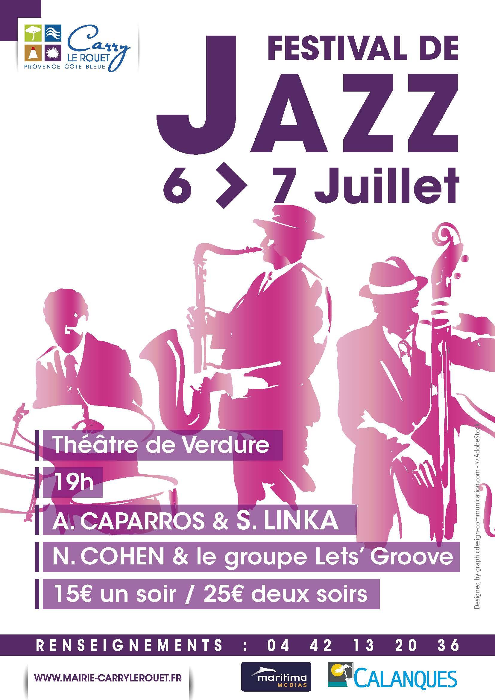 Festival de Jazz 2017  Carry le Rouet Bouches du Rhone Foxoo