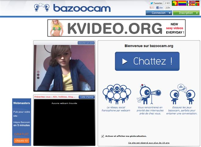 Une grande communauté. Avec Bazoocam.