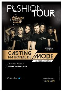 FASHION TOUR à GRANDE-SYNTHECasting national de mode – 27 au 29 octobre. Du 27 au 29 octobre 2016 à Grande-Synthe. Nord.  13H30