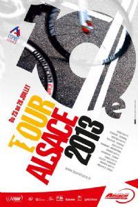 Cyclisme : Tour d'Alsace 2013. Du 23 au 28 juillet 2013. Bas-Rhin. #