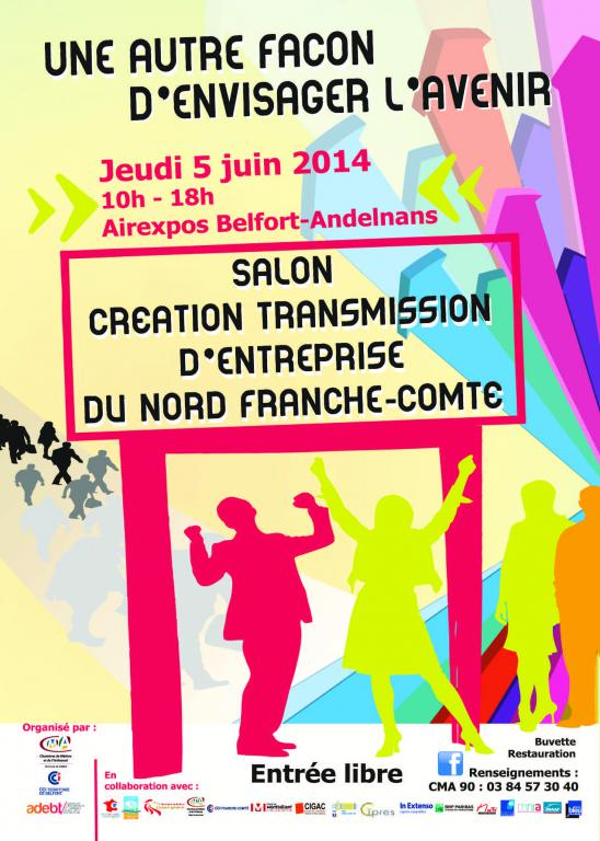 Commentez salon cr ation transmission d entreprise du nord for Salon creation entreprise