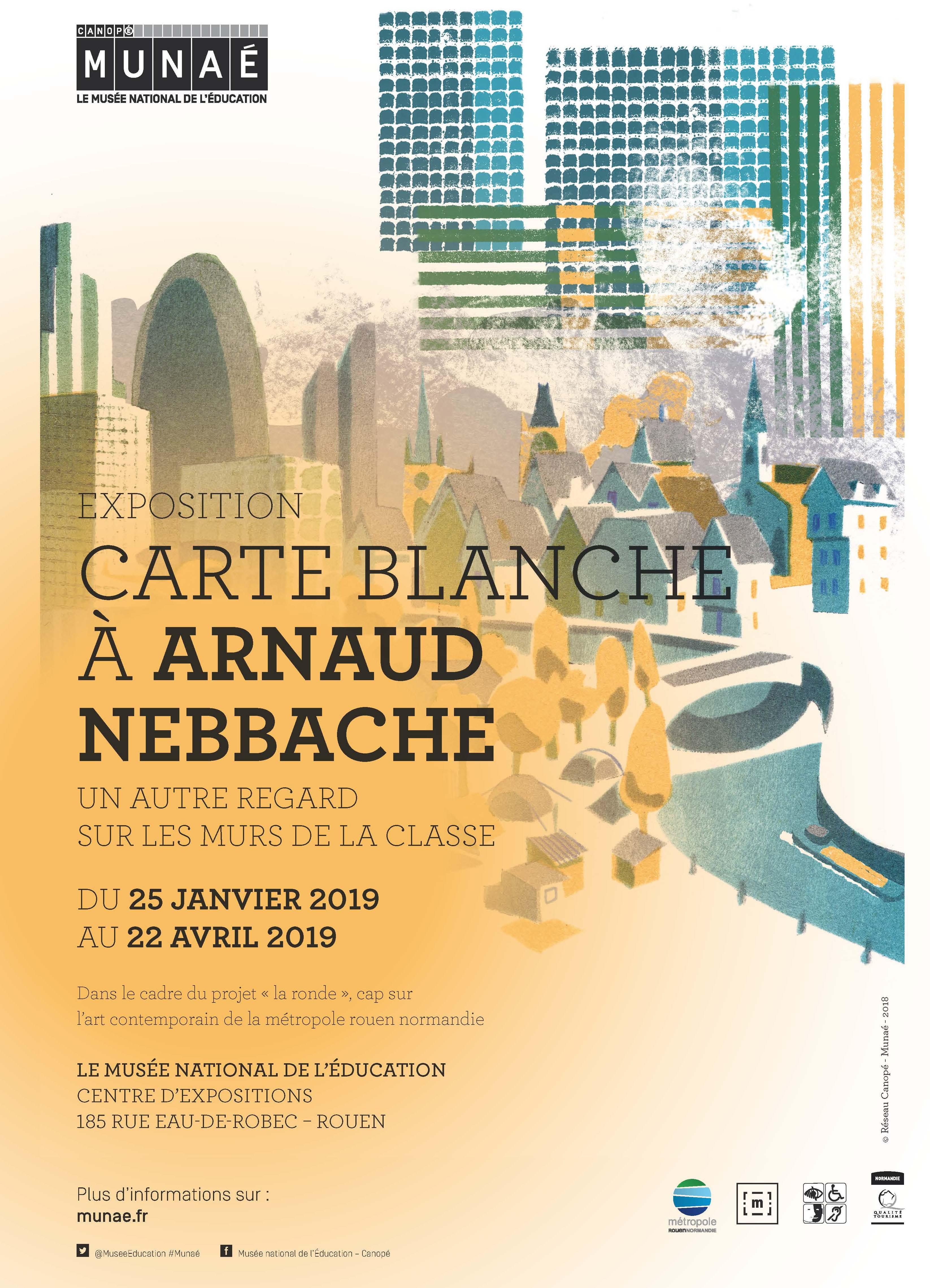Exposition Carte Blanche A Nebbache Illustrateur Jeunesse 2019 Rouen Seine Maritime