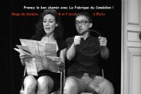 Stage théâtre Paris week-end avril. Du 6 au 7 avril 2019 à Paris. Paris.  10H00